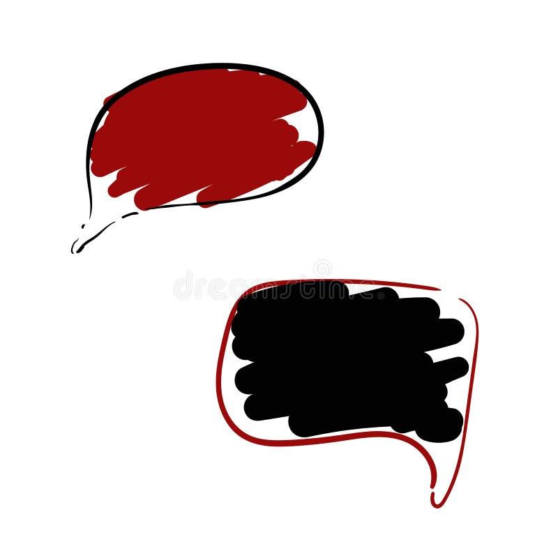 ?cone ajustado da mensagem do bate-papo Ilustra??o do vetor Eps 10 ilustração do vetor