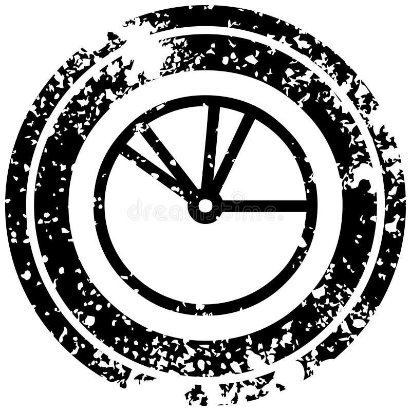 ?cone da carta de torta ilustração do vetor