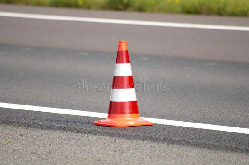 Cone da estrada fotografia de stock royalty free