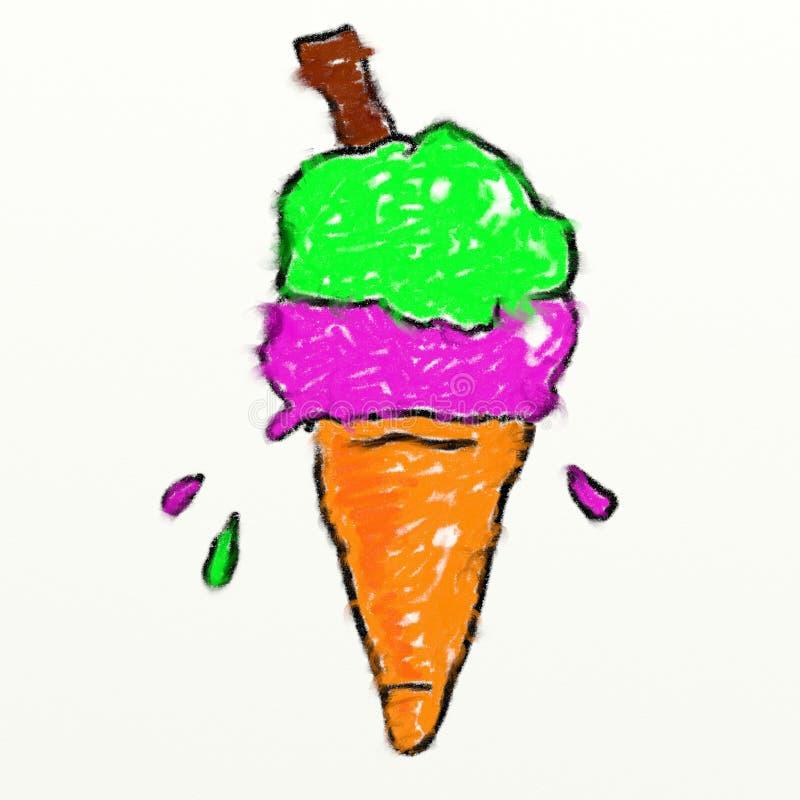 Cone de Childs ilustração do vetor