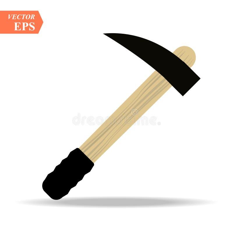 ?cone de Hummer Ilustra??o lisa do ?cone do vetor do hummer para a Web ilustração royalty free