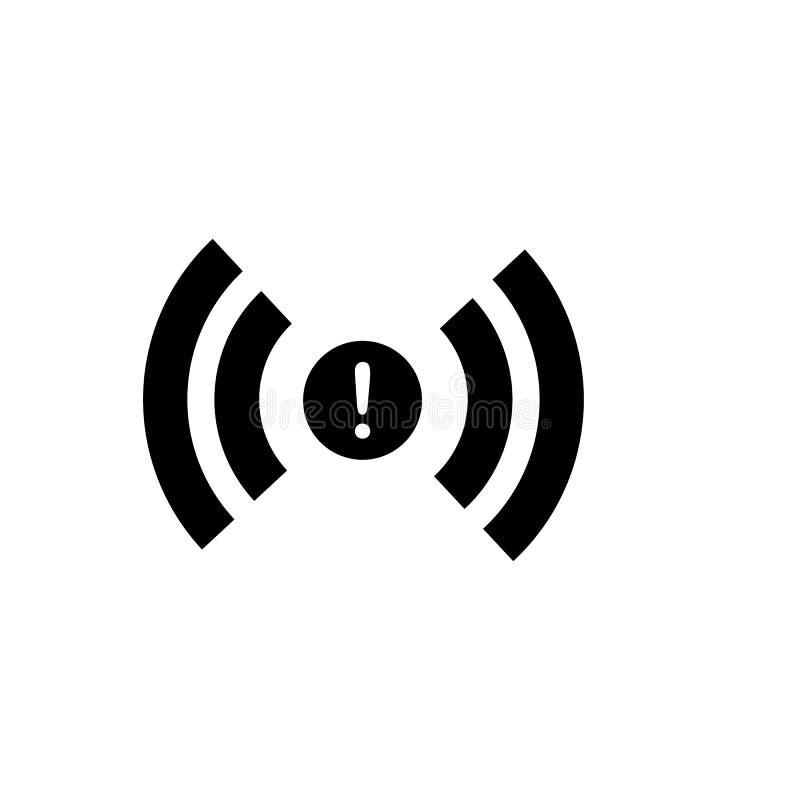 ?cone de Wi-Fi Vetor do ?cone do Internet ilustração do vetor