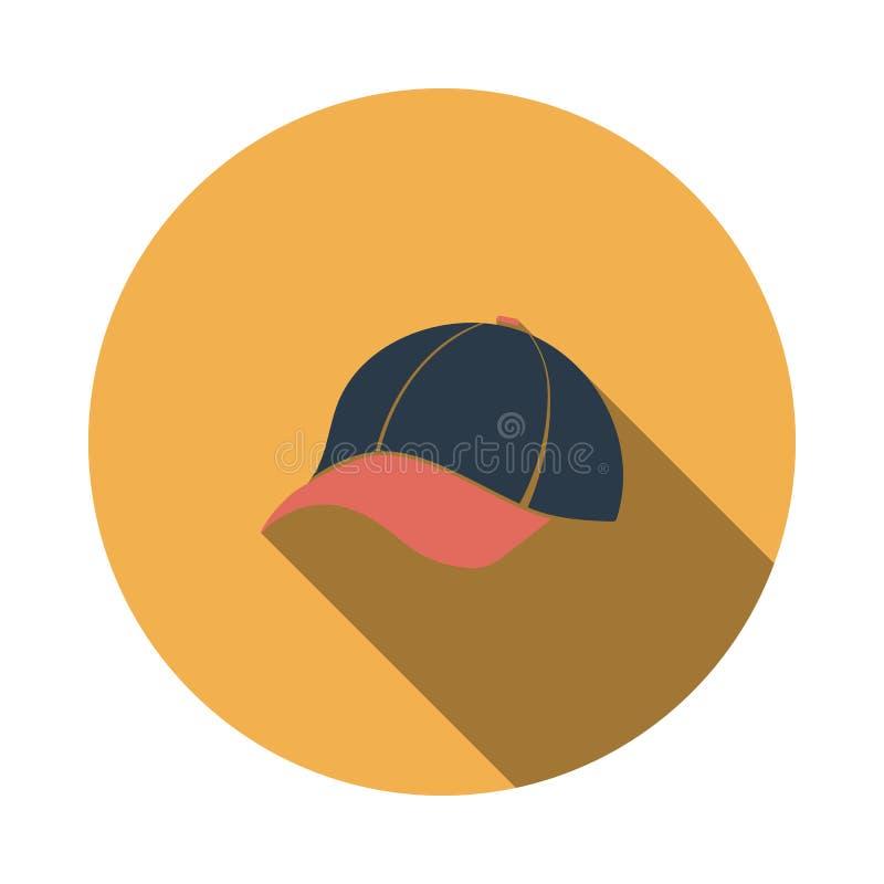 ?cone do bon? de beisebol ilustração royalty free