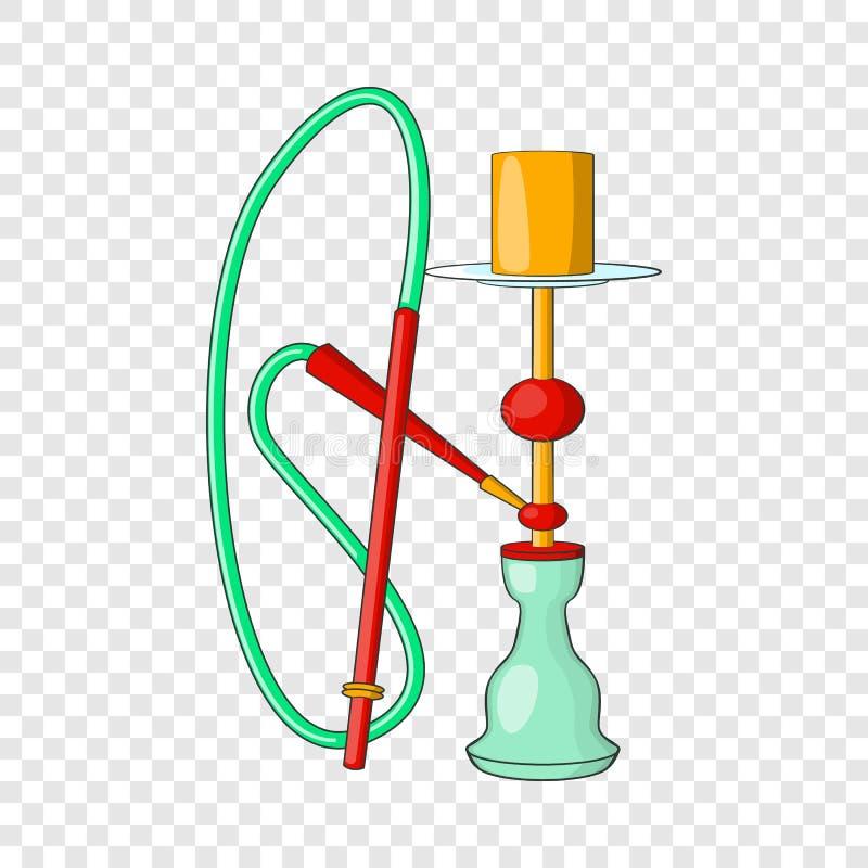 ?cone do cachimbo de ?gua, estilo dos desenhos animados ilustração do vetor