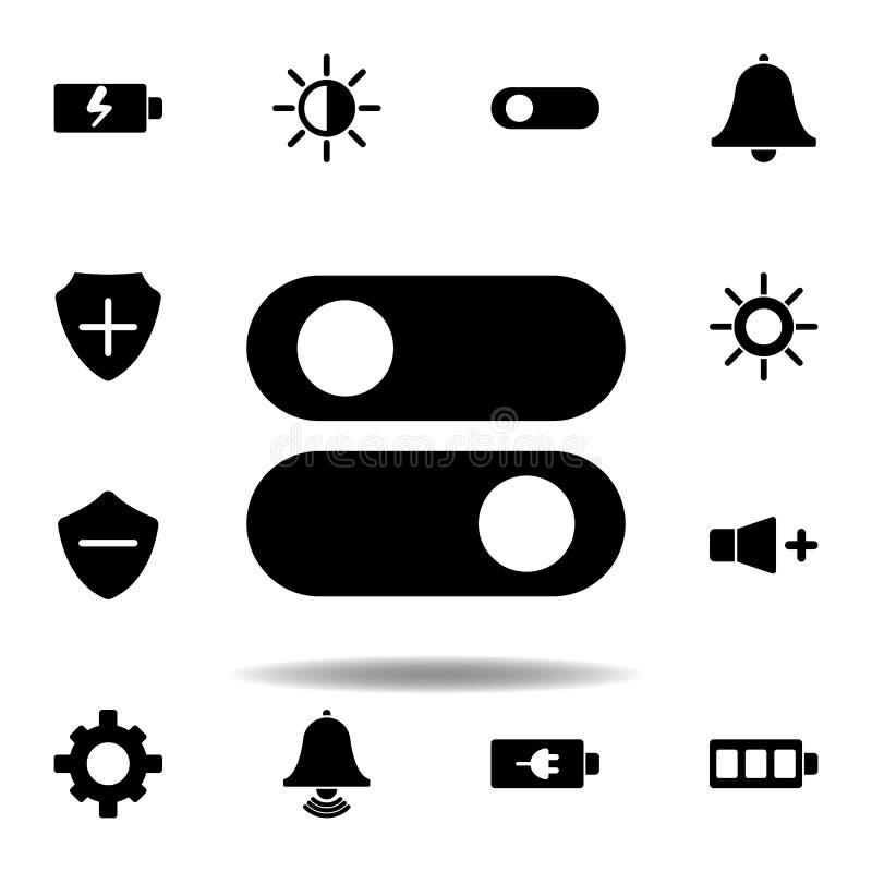 ?cone do carregamento de bateria Os sinais e os s?mbolos podem ser usados para a Web, logotipo, app m?vel, UI, UX ilustração do vetor