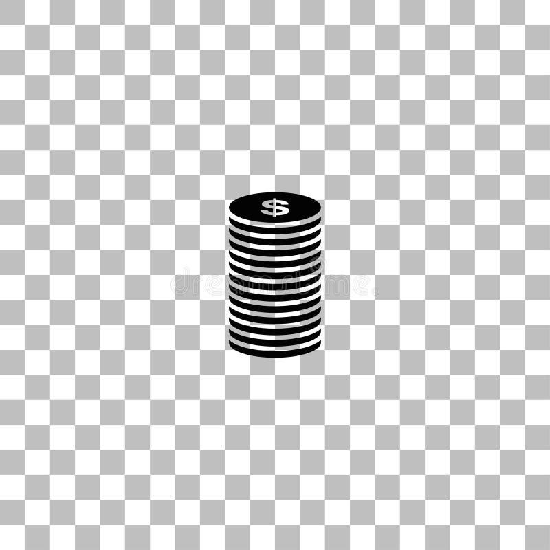 ?cone do ?cone do centavo horizontalmente ilustração royalty free
