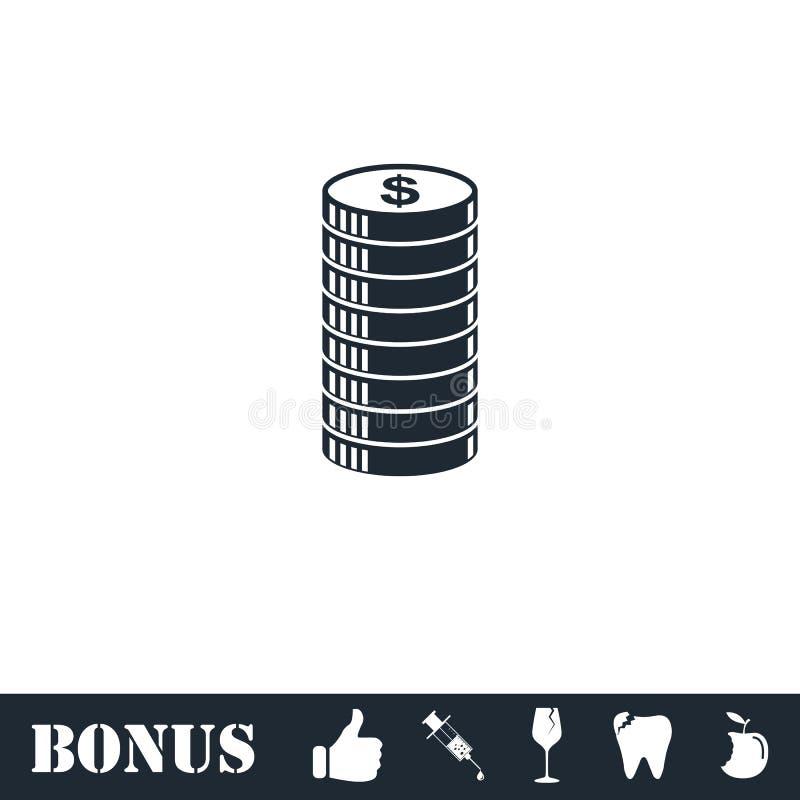 ?cone do ?cone do centavo horizontalmente ilustração do vetor