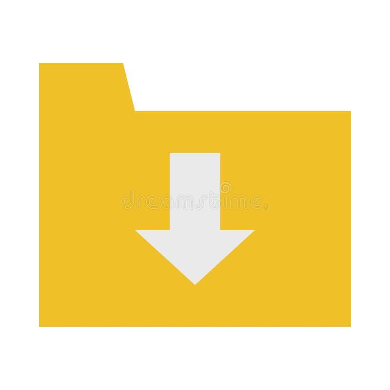 ?cone do dobrador da transfer?ncia ilustração lisa do ícone do vetor do dobrador da transferência para a Web ilustração do vetor