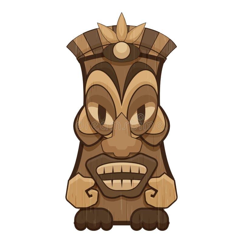 ?cone do ?dolo do Maya, estilo dos desenhos animados ilustração stock