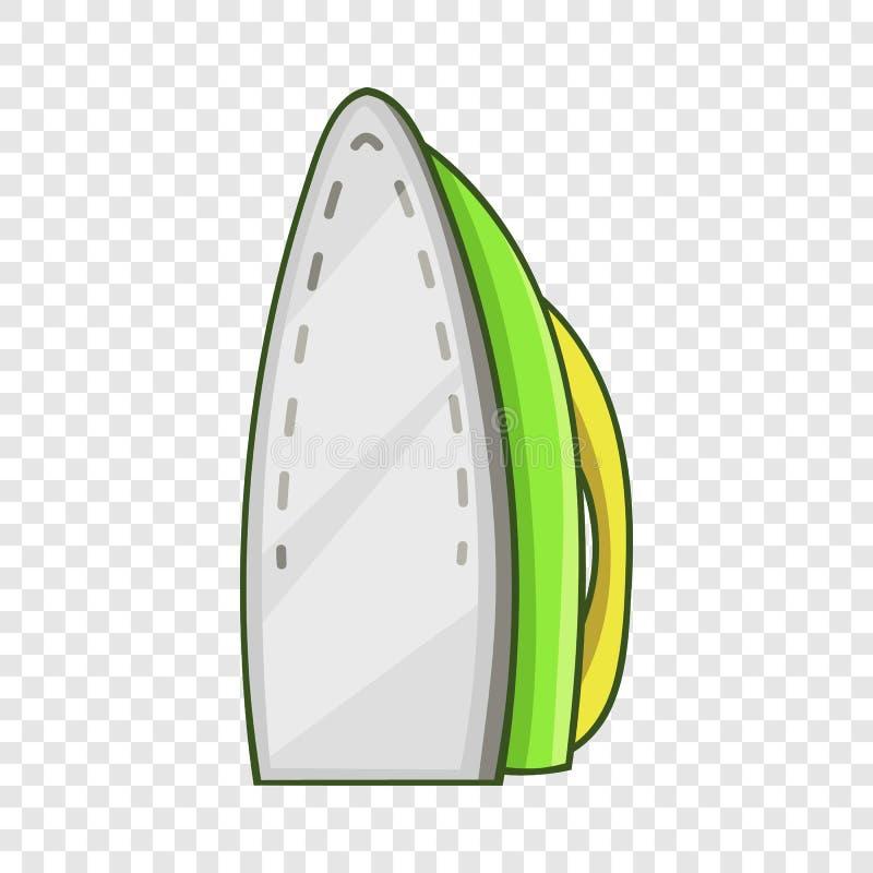 ?cone do ferro, estilo dos desenhos animados ilustração do vetor