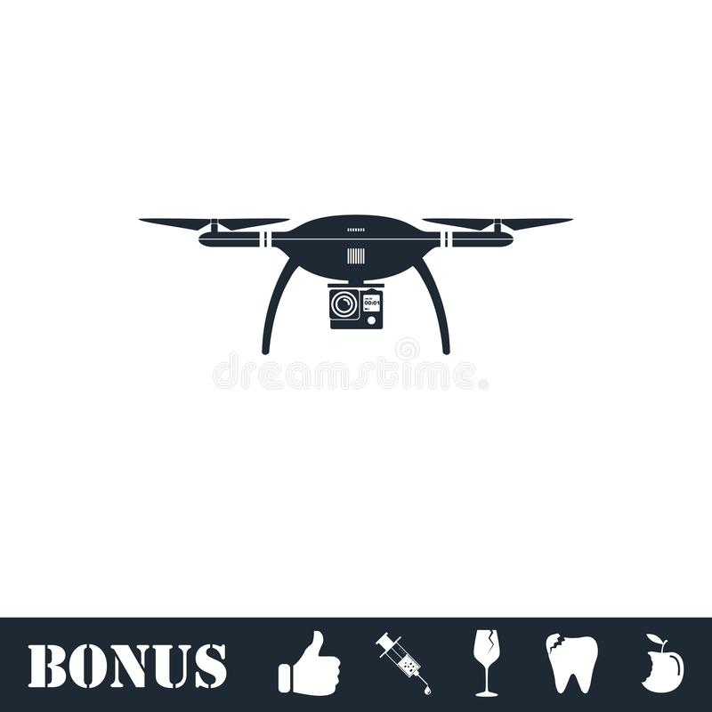 ?cone do quadrocopter do zang?o horizontalmente