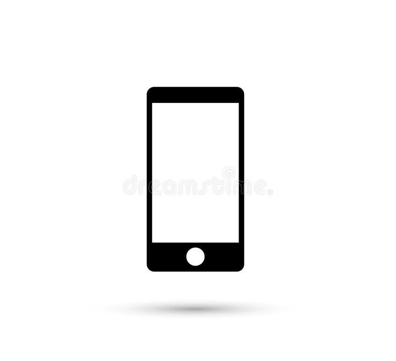 ?cone do telefone celular elemento na moda novo do ?cone da Web para apps m?veis do conceito e da Web ilustração do vetor