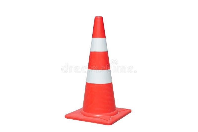 Cone do tráfego isolado fotos de stock