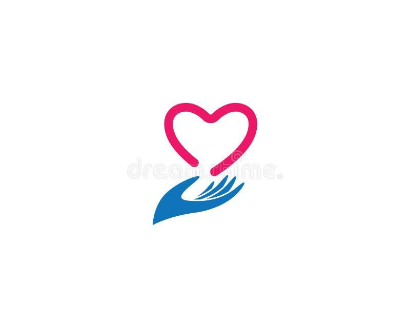 ?cone do vetor do amor ilustração royalty free