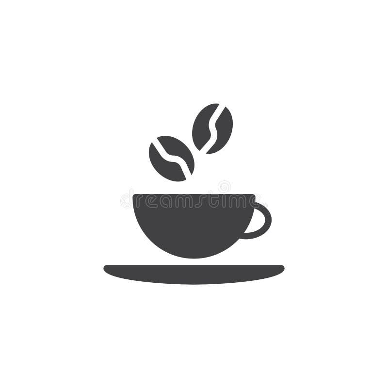 ?cone do vetor do copo de caf? ilustração stock