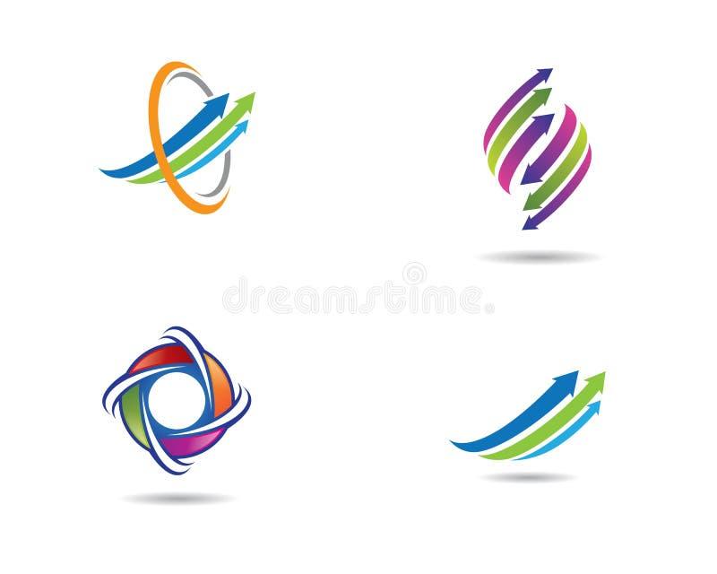 ?cone do vetor da seta ilustração do vetor