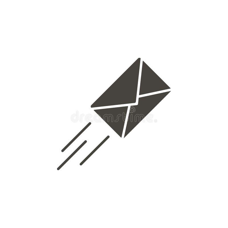 ?cone do vetor do email Ícone simples do vetor do illustrationEmail do elemento Ilustra??o material do vetor do conceito ilustração royalty free