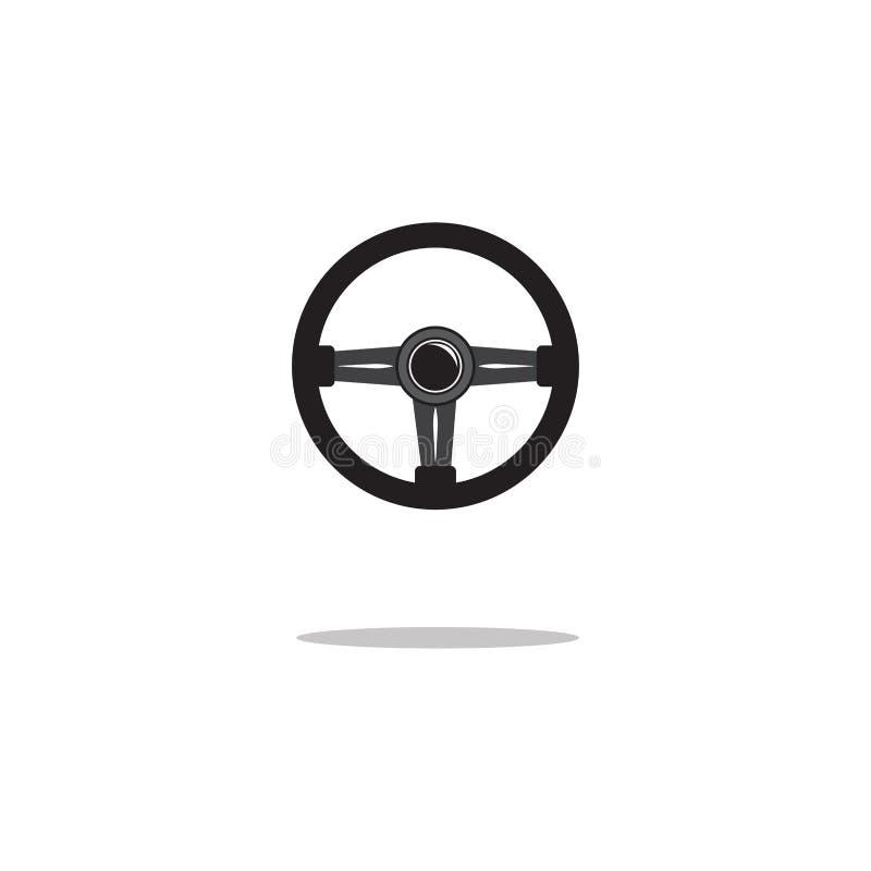 ?cone do volante isolado Ilustra??o do vetor ilustração royalty free