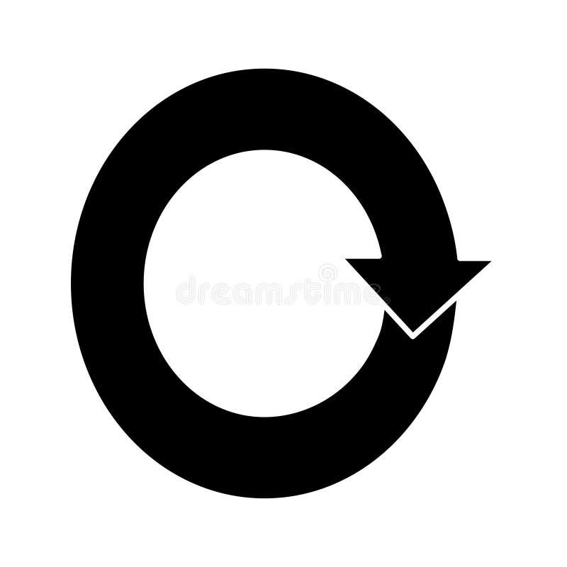 ?cone liso do vetor para o design web ilustração stock