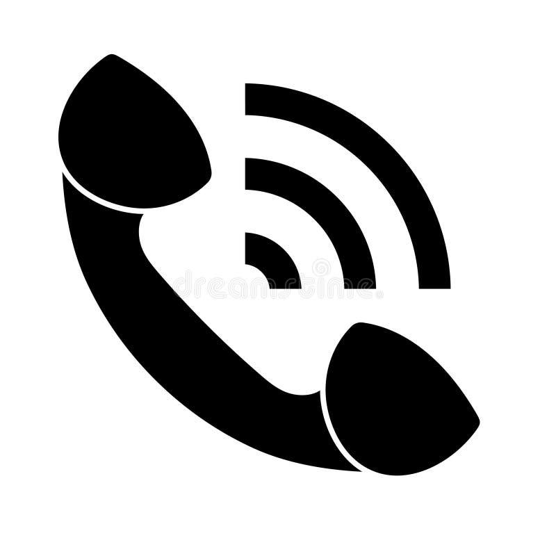 ?cone liso do vetor para o design web ilustração royalty free