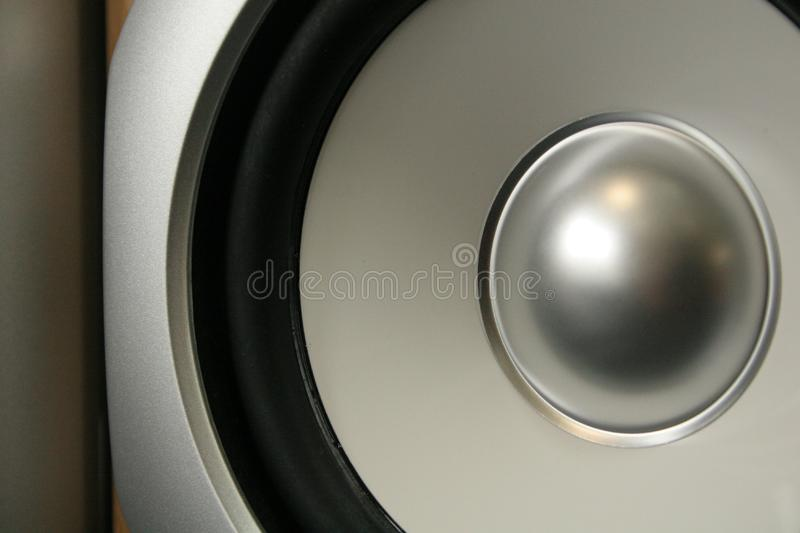Cone speaker royalty free stock image