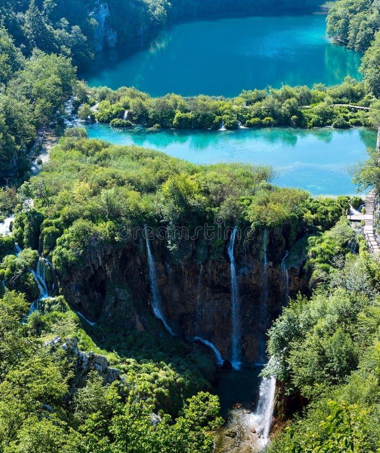 Parque nacional de los lagos Plitvice (Croacia) imagen de archivo libre de regalías