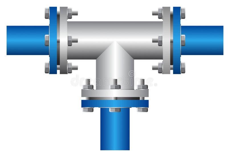 conector ilustração stock