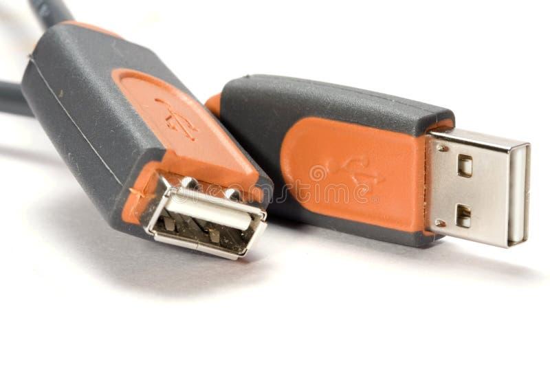 Conector do USB imagens de stock
