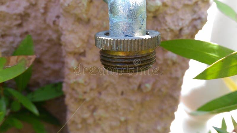 Conector exterior da torneira fotos de stock royalty free