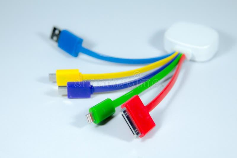 Conectores e soquetes para o PC fotos de stock royalty free