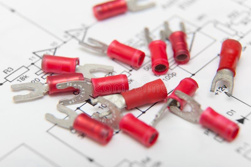 Conectores elétricos imagens de stock royalty free