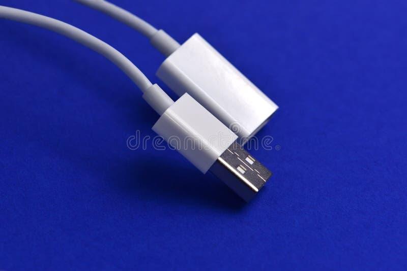 Conectores USB foto de archivo