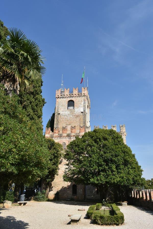 Conegliano-Schloss stockfotografie