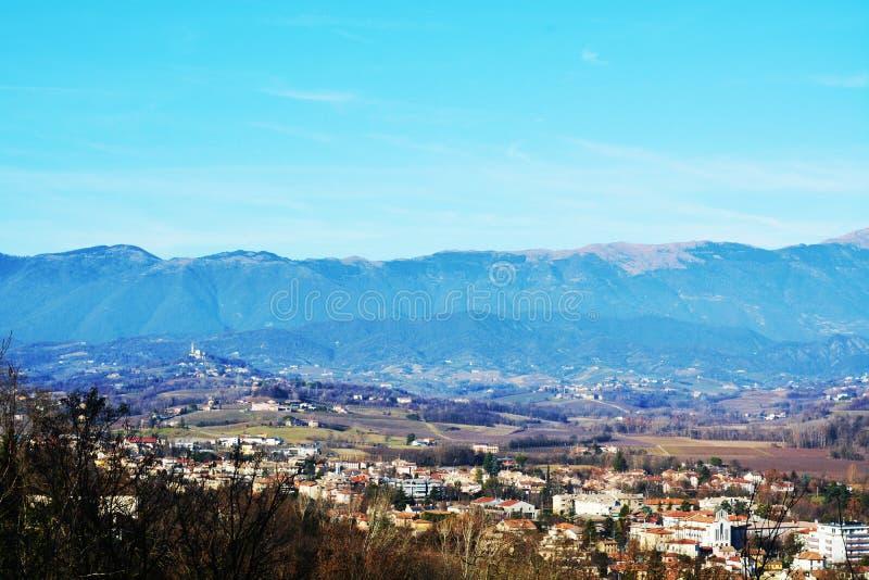 Conegliano Veneto E Vista Panoramica, Italia Immagine ...