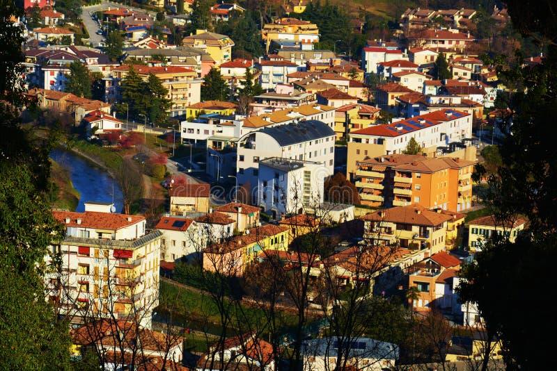 Conegliano Veneto, Panoramic Stock Photo - Image of ...