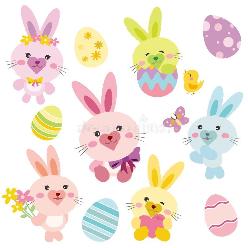 Conejito de pascua, conejo libre illustration