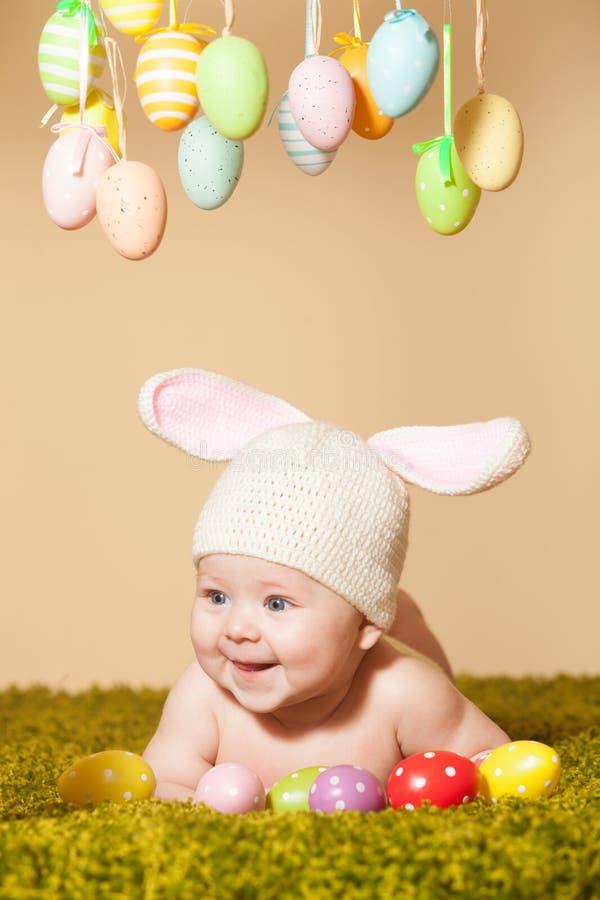 Conejito de pascua del bebé fotos de archivo libres de regalías