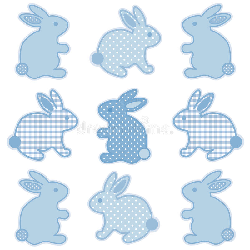 Conejitos de pascua del bebé libre illustration