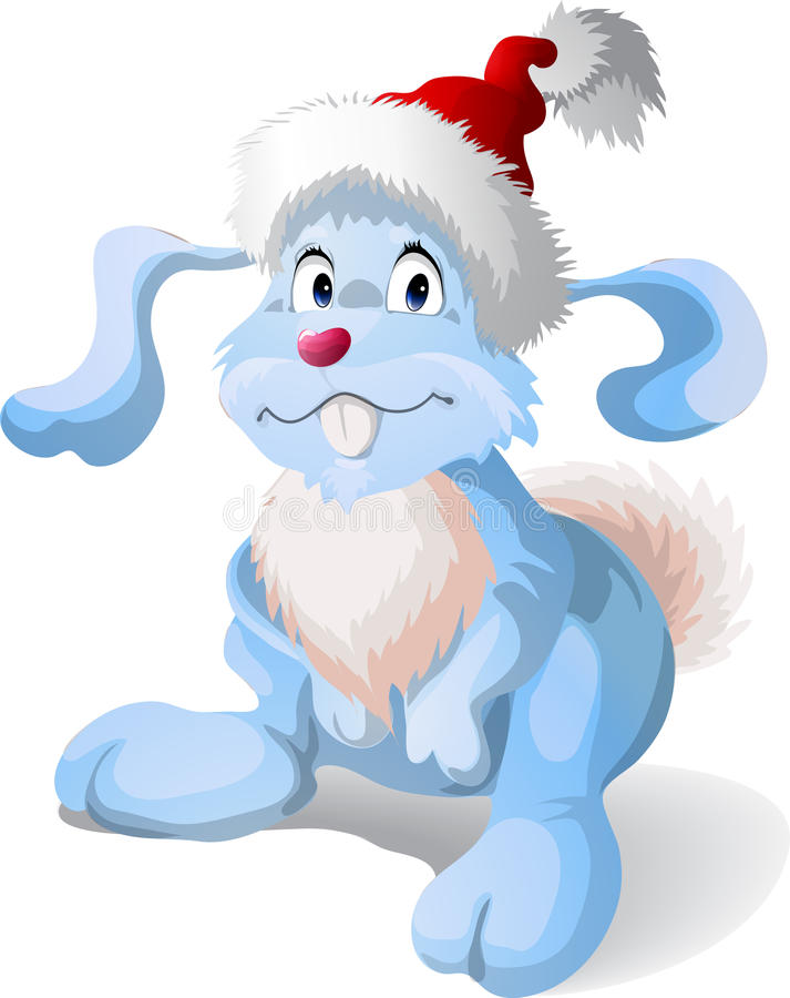 Conejo de la Navidad libre illustration