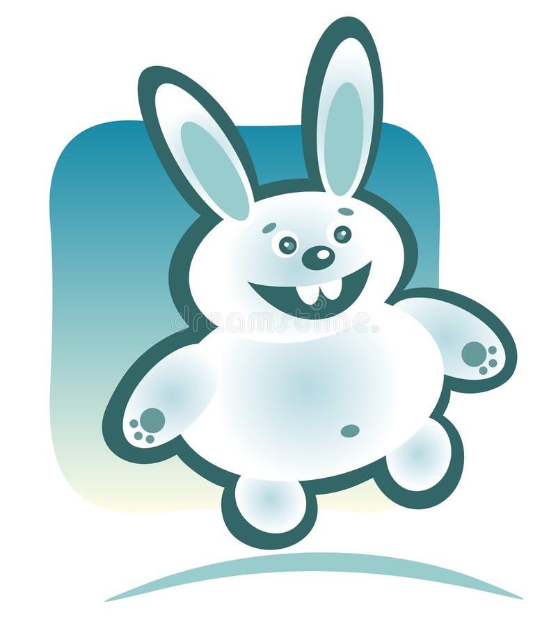 Download Conejo Feliz De La Historieta Ilustración del Vector - Ilustración de alegre, estilizado: 7282886
