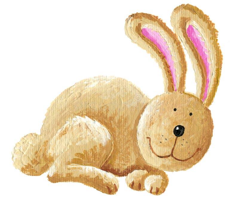 Conejo lindo ilustración del vector