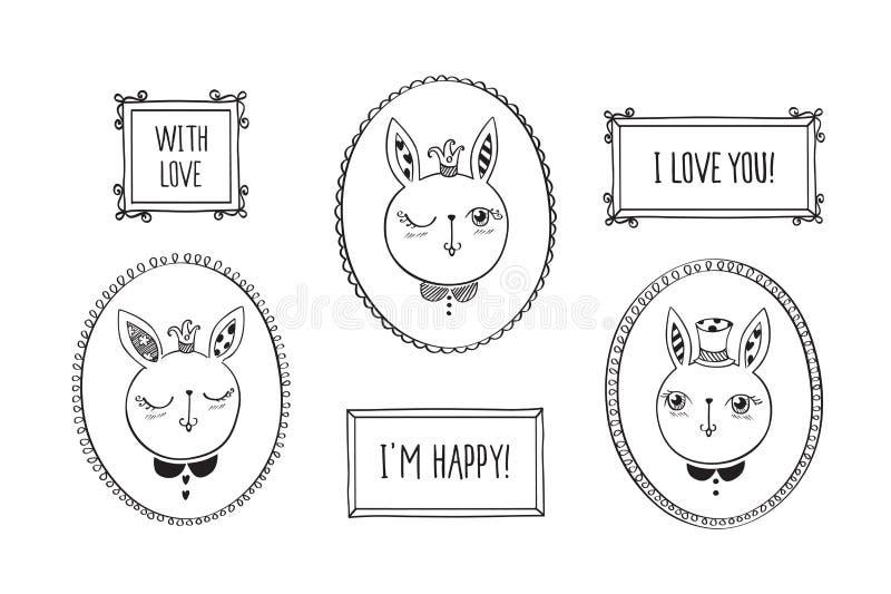 Conejos lindos libre illustration