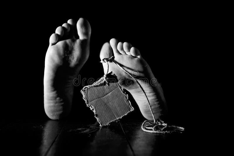 Conept de la mort photos libres de droits
