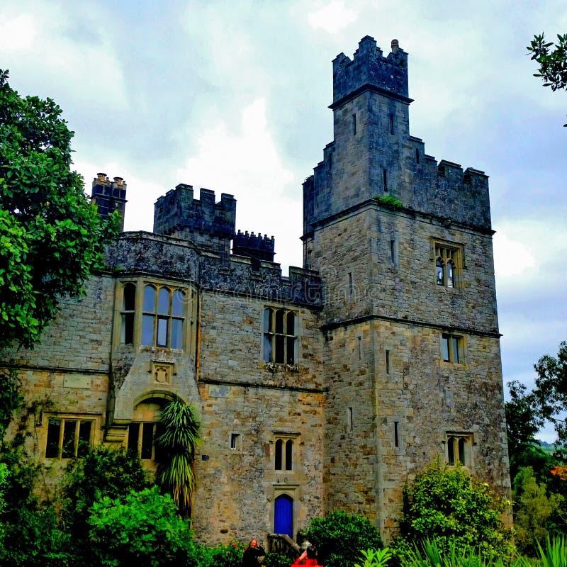 Coner castle stock photo