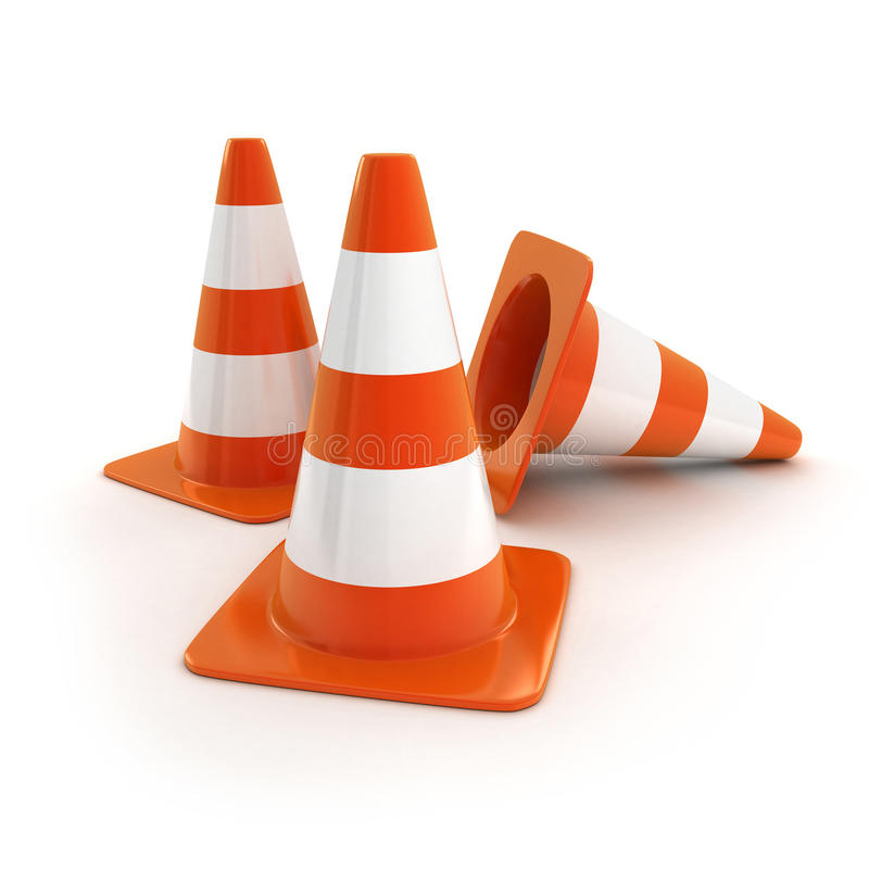 Cones Royalty Free Stock Photography