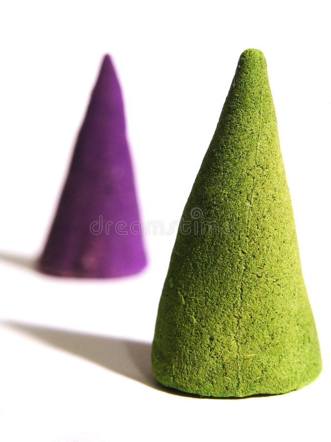 Download Cones stock image. Image of smoke, therapy, burn, green - 75099