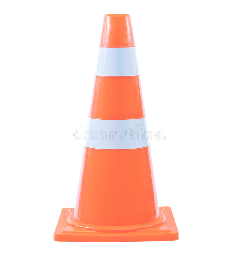Cones do tráfego fotografia de stock