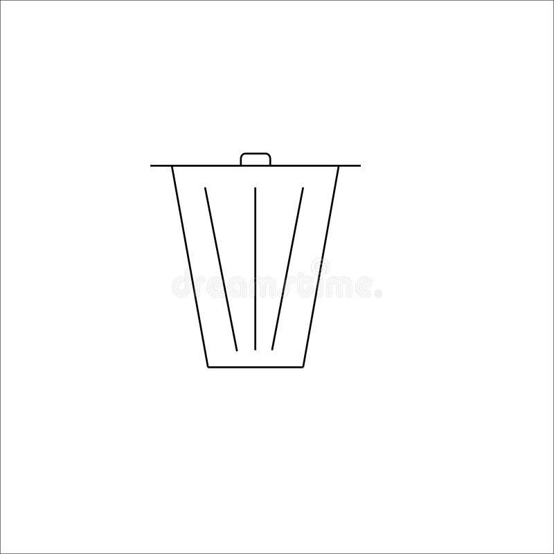 ?cones do vetor do escaninho ilustração do vetor