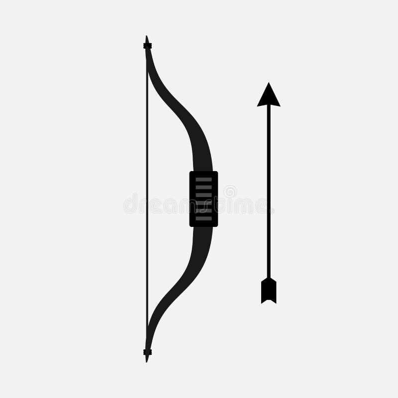 ?cones lisos do vetor da curva e das setas imagem de stock