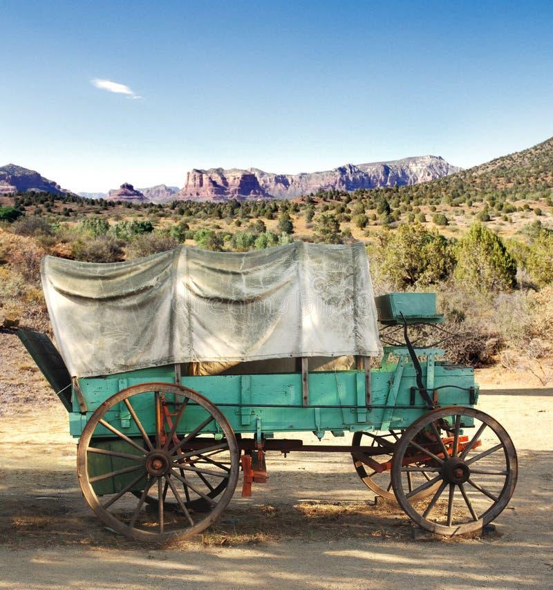 Conestoga Lastwagen lizenzfreie stockfotos